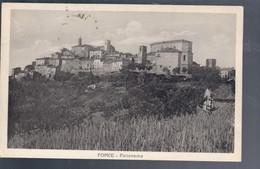 Force  ASCOLI PICENO Panorama VIAGGIATA 1955 COD.C.2074 - Ascoli Piceno