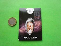 MUGLER THIERRY  - MUSE - Carte Parfumée PUFFER - Cartes Parfumées