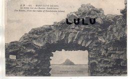 DEPT 50 : édit. J Puet N° 104 : Le Mont Saint Michel Le Mont Vue Des Ruines Tombelaine ( édit. Spéciale De L Abbaye ) - Le Mont Saint Michel