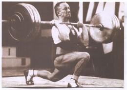 Weightlifting  Halterophile - Waldemar Baszanowski, By E.W. F. PC - Haltérophilie