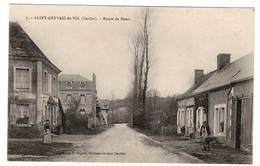 72 SARTHE - SAINT GERVAIS DE VIC Route De Bessé - Autres Communes