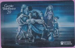 Télécarte Brésil °° Criança Morta . Portinari 944 - 20 Units. - Brésil