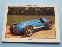 TALBOT LAGO - 1949 ( Musée Automobile LYON ) Anno 19?? ( Zie / Voir / See Photo ) ! - Voitures De Tourisme