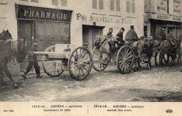 Amiens Artillerie Traversant La Ville - Amiens