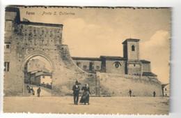 Fermo  ASCOLI PICENO Porta Santa Caterina VIAGGIATA 1924 COD.C.2078 - Fermo