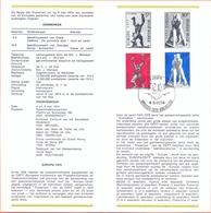 Belgium België Postfolder Nr. 7 - 1974 1714 / 1715 Europa Brussel - Documents De La Poste