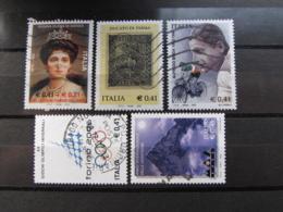 *ITALIA* LOTTO 5 USATI 2002 - REGINA ELENA DUCATO PARMA BINDA TORINO 2006 MONTAGNE - 6. 1946-.. Repubblica