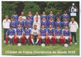 FOOTBALL / SOCCER / FUTBOL / CALCIO - FIFA WORLD CUP FRANCE 1998. Champions Autographs - Calcio