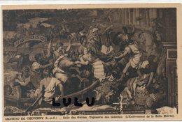 DEPT 41 : édit. L Lenormand : Chateau De Cheverny Salle Des Gardes Tapisserie Des Gobelins L Enlèvement De Ste Hélène - Cheverny