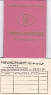 Romania, 1971, Vehicle Driving License / Permit And Penalty Ticket - Documenti Storici