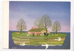 Manfred Sohl, Arche Noah, Noah's Arc, Unused Postcard [22659] - Paintings