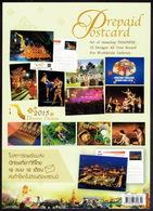 Thailand 2015, Set Of 12 Pre-paid Postcards. - Thailand