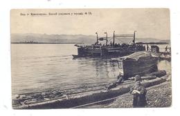 RU 660000 KRASNOJARSK, Fähre über Den Jenissei, 1906 - Russland