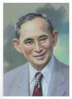 Thailand 2017, Portraits Of King Bhumibol Adulyadej, Set Of 9 Postcards. - Thailand