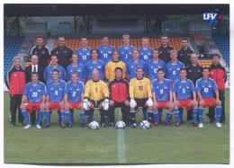 FOOTBALL / SOCCER / FUTBOL / CALCIO - LIECHTENSTEIN, National Team LFV - Calcio
