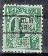 USA Precancel Vorausentwertung Preo, Locals Arkansas, Ulm 729 - Etats-Unis