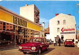 D-19-410 : CONCESSION RENAULT. BOULOGNE BILLANCOURT. RENAULT 8. GARAGE - Boulogne Billancourt