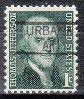 USA Precancel Vorausentwertung Preo, Locals Arkansas, Urbana 835,5 - Etats-Unis