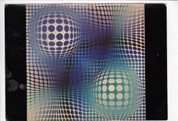 Victor VASARELY, FENY, Unused Postcard [22662] - Paintings