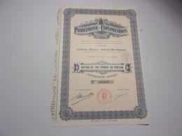 PATHEPHONE EXPLOITATION (1932) - Azioni & Titoli