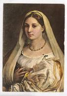 Raffaello Sanzio O Santi, La Velata, Te Veiled Woman, 1984 Used Postcard [22663] - Paintings