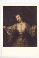 Rembrandt Van Rijn, Lucretia, Used Postcard [22665] - Paintings
