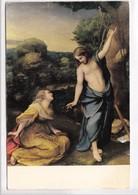 CORREGIO, NOLI ME TANGERE, Museo Del Prado, Unused Postcard [22666] - Paintings