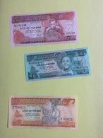 3 Billets Ethiopie  (Neufs) - Ethiopie