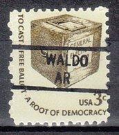 USA Precancel Vorausentwertung Preo, Locals Arkansas, Waldo 841 - Etats-Unis