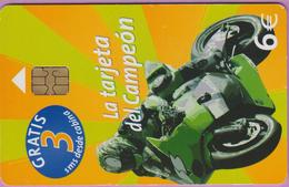 Télécarte Espagne °° Tarjeta Del Campeon Moto -6 €- 6861 - 2005.12. - Espagne