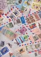 INDIA - INDE - Gros Lot Varié De 313 Enveloppes Timbrées - Air Mail Covers - Cover - Batch Of Letters - Stamps - Timbres - Inde