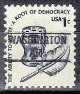 USA Precancel Vorausentwertung Preo, Locals Arkansas, Washington 841 - Etats-Unis