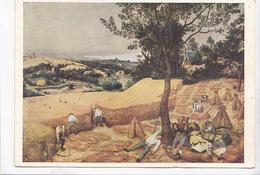 Peter Brueghel, Kornernte, The Corn Harvest, Unused Postcard [22672] - Paintings