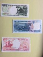 3 Billets Indonésie , Neufs - Indonésie