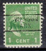 USA Precancel Vorausentwertung Preo, Locals Arkansas, Wesson 729 - Etats-Unis