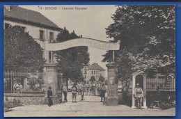 BITCHE    Caserne Teyssier       Animées    écrite En 1922 - Bitche