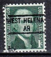 USA Precancel Vorausentwertung Preo, Locals Arkansas, West Helena 841 - Etats-Unis