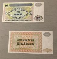 2 Billets : Azerbaïdjan , Neufs - Azerbaïdjan