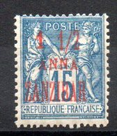 ZANZIBAR - YT N° 22 - Neuf * - MH - Cote: 14,00 € - Zanzibar (1894-1904)