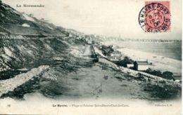 N°68723 -cpa Le Havre Sainte Adresse -plage Et Falaises Saint Denis Chef De Caux- - Sainte Adresse