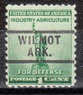USA Precancel Vorausentwertung Preo, Locals Arkansas, Wilmot 729 - Etats-Unis