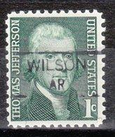 USA Precancel Vorausentwertung Preo, Locals Arkansas, Wilson 835,5 - Etats-Unis