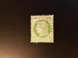 Ceres, 5 Cts Vert, GC 3836, St Riquier, Somme - Marcophilie (Timbres Détachés)