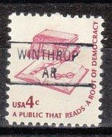 USA Precancel Vorausentwertung Preo, Locals Arkansas, Winthrop 841 - Etats-Unis