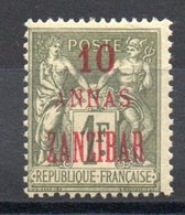 ZANZIBAR - YT N° 29 - Neuf * - MH - Cote: 35,00 € - Zanzibar (1894-1904)