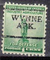 USA Precancel Vorausentwertung Preo, Locals Arkansas, Wynne 701 - Etats-Unis