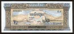 Kambodscha 1972, 50 Riels - UNC - Cambodia