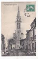 Carte Postale  Villefranche D'albygeois Vue De L' Entrée De L' église - Villefranche D'Albigeois