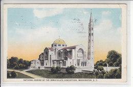 NATIONAL SHRINE OF THE IMMACULATE CONCEPTION,WASHINGTON, D.C - CIRCULEE - Washington DC
