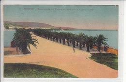 BIZERTE - BOULEVARD DU FRONT DE MER ET LA PLAGE - 1928 - Tunisie